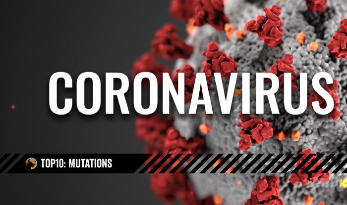 top10 Covid Mutations